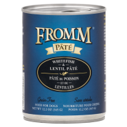 Fromm Grain Free Dog Whitefish & Lentil Pate 12/12.2 oz