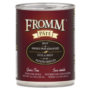 Fromm Grain Free Dog Beef & Sweet Potato Pate 12/12.2 oz