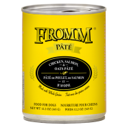 Fromm Dog Chicken Salmon & Oats Pate 12/12.2 oz