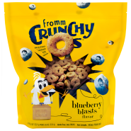 Fromm Dog Crunchy Os GF Blueberry Blasts Treats 26 oz