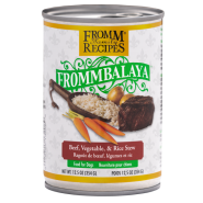 Fromm Dog Frommbalaya Beef Veg & Rice Stew 12/12.5 oz