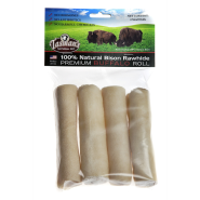 "Bison Peggable Small Rolls 4-5"" 4 pk"