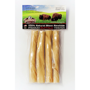 "Bison Peggable Medium Twisters 6"" 4 pk"