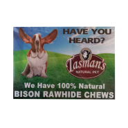 "Bison Shelf Talker 7"" x 5"""