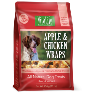 Vitalife Dog Apple and Chicken Wraps 454 gm