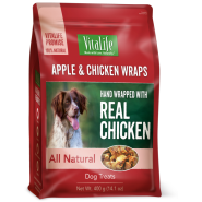 VitaLife Apple & Chicken Wraps 400 g