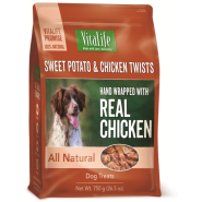 VitaLife Sweet Potato & Chicken Twists 750 g