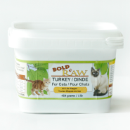 Bold Raw Cat Turkey 1 lb
