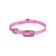 Nylon Safety Cat Collar Neon Pink 12""
