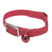 Sassy SnagProof Nyl Safety Cat Collar Red 10""