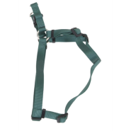 "Comfort Wrap Adj Nyl Harness 3/8""x12-18"" Hunter Green"