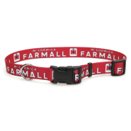 "Case IH Printed Adj Nyl Collar 1x18"" - 26"" RedFrmal"