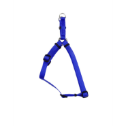 "Comfort Wrap Adj Nyl Harness 5/8x16-24"" Blue"