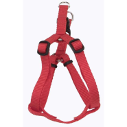 "Comfort Wrap Adj Nyl Harness 5/8x16-24"" Red"