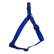"Comfort Wrap Adj Nyl Harness 1x26-38"" Blue"