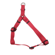 "Comfort Wrap Adj Nyl Harness 1x26-38"" Red"