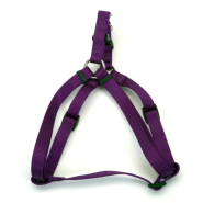 "Comfort Wrap Adj Nyl Harness 3/4x20-30"" Purple"