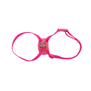 "SizeRight SnagProof Adj Nylon Cat Harness 12-18"" Neon Pink"