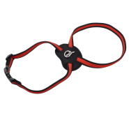 "Coastal Size Right Harness 3/4"" Red Xsmall"