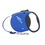 Mini Power Walker Retractable Leash Blue