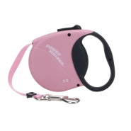 Mini Power Walker Retractable Leash Pink