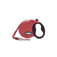 Power Walker Retractable Leash Red Small