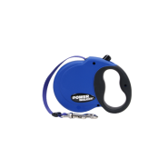 Power Walker Retractable Leash Blue Medium