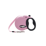 Power Walker Retractable Leash Pink Small
