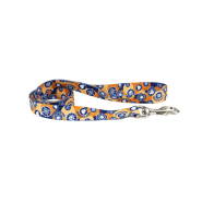 "Life is Good Styles Leash Pawsitivity 1""x6"