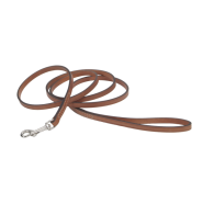 "CircleT Oak Tanned Leather Leash 3/8""x4"