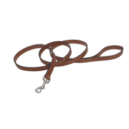 "CircleT Oak Tanned Leather Leash 3/4""x4"