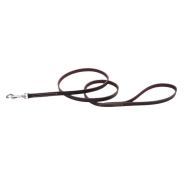 "CircleT Latigo Leather Leash 3/8""x4"
