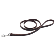 "CircleT Latigo Leather Leash 5/8""x4"