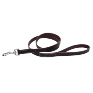 "CircleT Latigo Leather Leash 3/4""x4"