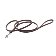 "CircleT Latigo Leather Leash 1/2""x6"