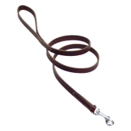 "CircleT Latigo Leather Leash 5/8""x6"