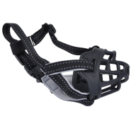 SoftBasket Muzzle BLK-Black 01