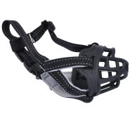 SoftBasket Muzzle BLK-Black 02