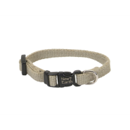 "New Earth Soy Adj Collar 3/8""x8"" Olive"
