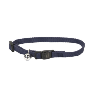 "New Earth Soy Adj Bkwy Cat Collar 12"" Indigo"