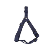 "New Earth Soy Comfort Wrap Adj Harness 1""x26-38"" Indigo"