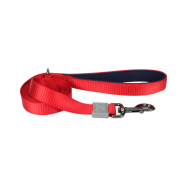 "Life is Good Dog Padded Handle Leash 1""x6"