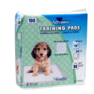 Advance Training Pads Turbo Dry Package of 100