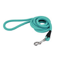 Coastal Rope Leash Teal 6