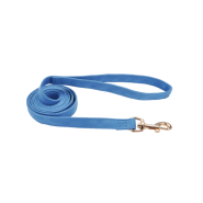 "Accent Microfiber Leash Boho Blue 5/8""x6"
