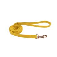 "Accent Microfiber Leash Vintage Yellow 5/8""x6"
