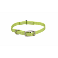 Nylon Safety Cat Collar Lime 12""