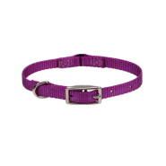Nylon Safety Cat Collar Orchid 12""
