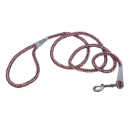 K9 Explorer Braided Rope Snap Leash Rosebud 6