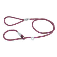 K9 Explorer Reflective Braided Rope Slip Leash Orchid 6